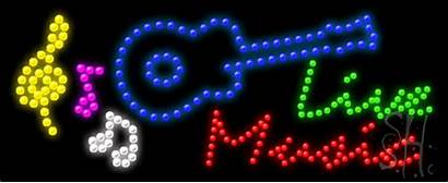 Sign Led Neon Signs Animated Giant Instruments