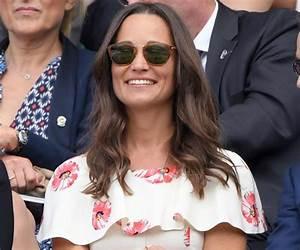 Pippa Middleton looks glamorous in designer dress ...