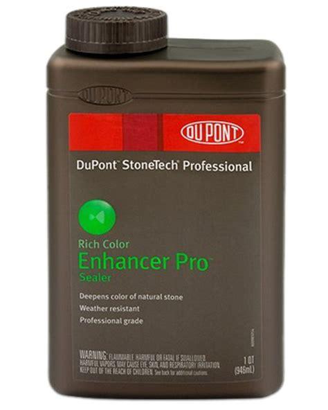 Dupont Tile Sealer And Enhancer by Laticrete Stonetech Enhancer Pro Sealer 1 Quart Hardware