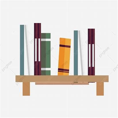 Cartoon Bookshelf Estante Ai Clipart Animados Um