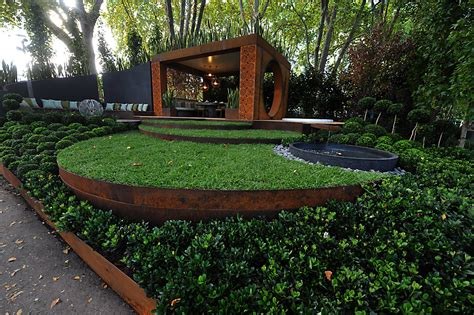 Metal Garden Edging Ideas innovative metal landscape edging design ideas and decor