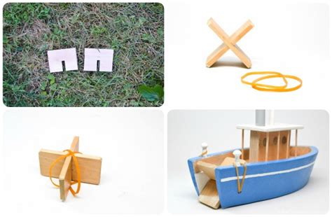 How To Make A Toy Boat by How To Make A Toy Paddle Boat