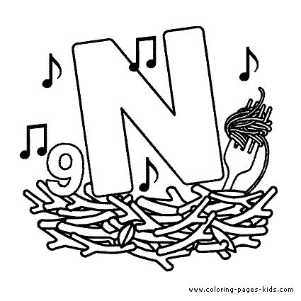 words of letter n free alphabet s179e coloring toys alphabet color pages coloring pages for 57776