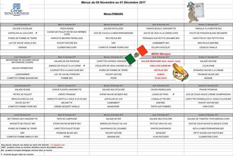menu de la cantine scolaire ville de lucciana site officiel haute corse