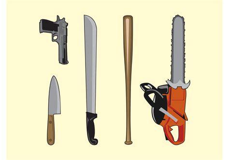 vector weapons   vector art stock graphics