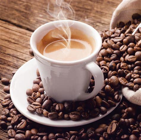 design raumteiler wandbild mit einer tasse kaffee shophit serie 20x20cm