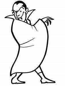 Dessin Halloween Vampire : dessin vampire qui fait peur ~ Carolinahurricanesstore.com Idées de Décoration
