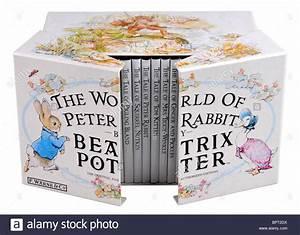 The World of Peter Rabbit box set by Beatrix Potter Stock Photo, Royalty Free Image 31261606