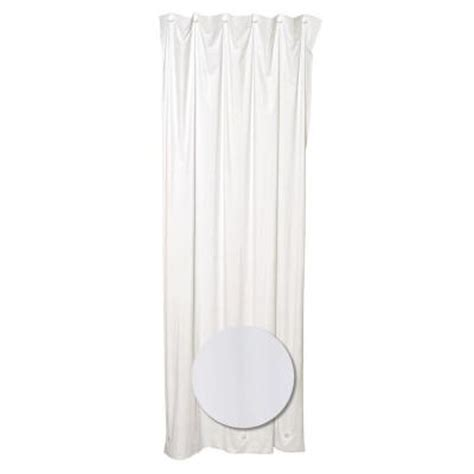glacier bay 36 in w x 72 in h stall shower curtain liner