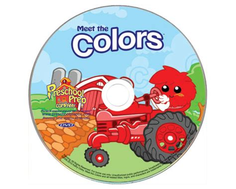 meet the colors preschool prep meet the colors dvd 988