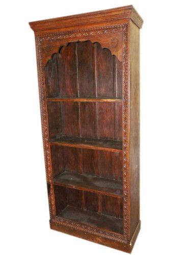 Wooden Bookshelves For Sale by Antique India Furniture Mehrab Frame Book Carved Wood