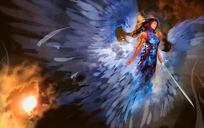 Magic Angel Gathering 4k Desktop Wallpapers
