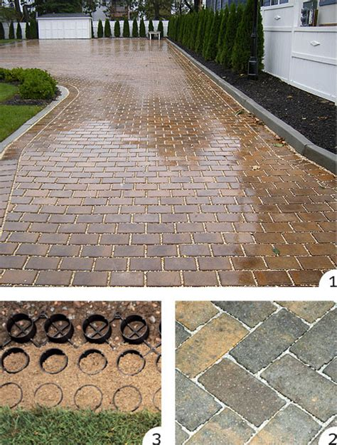 driveway runoff solutions 3 driveway and patio surfaces that reduce runoff