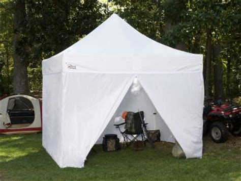 ft   ft goliath heavy duty  aluminum instant canopy  sidewalls white