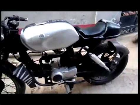 Modified Bikes Cd Deluxe by Modified Cd Honda Cafe Racer