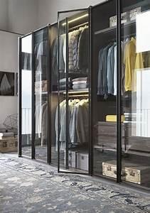 Kleiderschrank Industrial Design : 65 modelos de closets fotos ideias lindas ~ Markanthonyermac.com Haus und Dekorationen