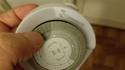Intermatic Indoor Timer Instructions