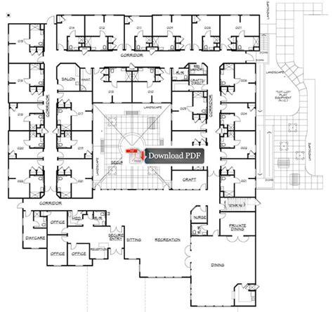 harmonious retirement home floor plans assisted living floor plan meze
