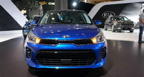 kia rio sedan rumor review  price   kia