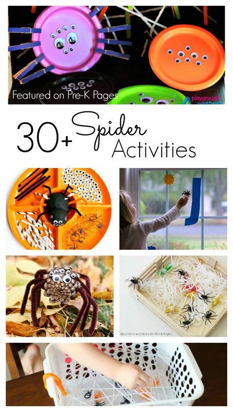spider activities  preschoolers pre  pages