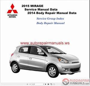 Mitsubishi Mirage 2015 Workshop Manual