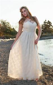plus size hippie wedding dresses pluslookeu collection With bohemian wedding dress plus size