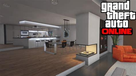 Gta V Online Home Interiors : Gta Online Stilt House Tour