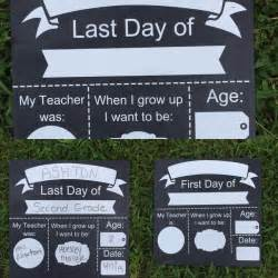 First Day of School Dry Erase Board