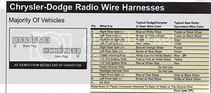 Chrysler Dodge Radio Wiring Scheme
