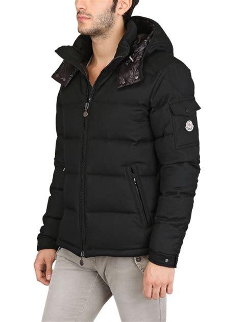 lyst moncler montgenevre wool  jacket  black  men