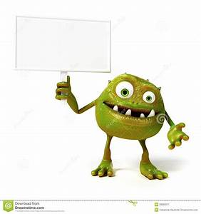 Funny Bacteria Toon Stock Image - Image: 28990311