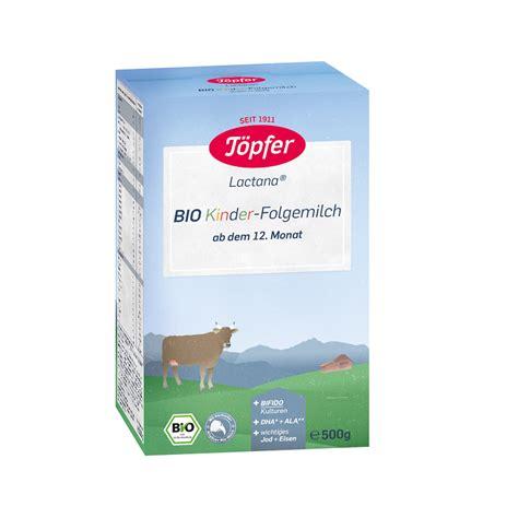 Formula de lapte praf Bio Kinder, +12 luni, 500 gr, Topfer ...