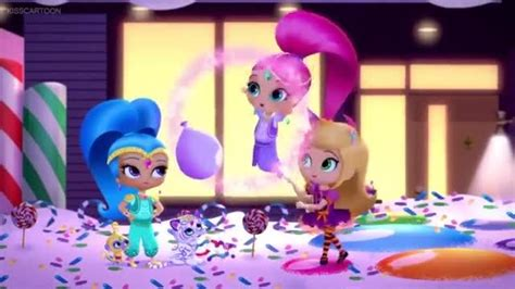 shimmer  shine episode  lights camera genies