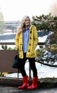 228 best images about What to Wear - Hunter Boots on Pinterest