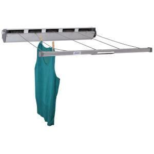 household essentials retractable   aluminum laundry