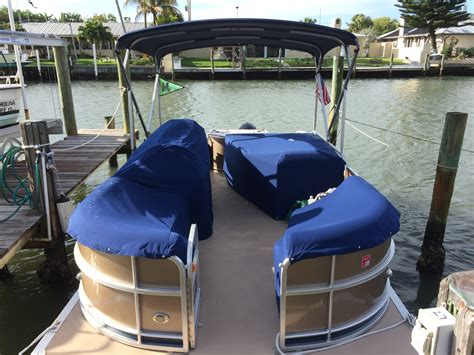 Pontoon Boat Covers by Boat Cover Sunnyland Canvas