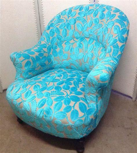 calaggio tissu ameublement velours fauteuil designers