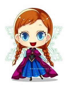 Disney Princess Anna Chibi