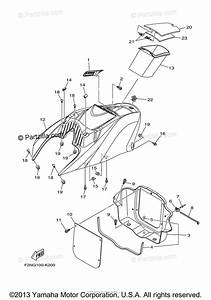 Yamaha Waverunner 2012 Oem Parts Diagram For Engine Hatch 1
