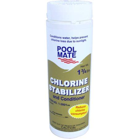 pool mate stabilizer  conditioner  swimming pools