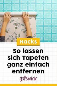 Alte Tapeten Ablösen : tapeten entfernen mit diesen tricks klappt 39 s tapeten ~ Watch28wear.com Haus und Dekorationen
