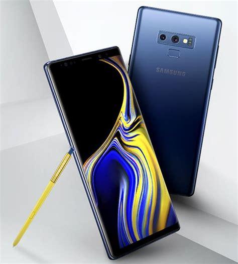 Samsung Galaxy Note 9  Un Rendu Presse Officiel Montre L