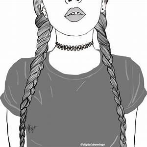 84 best images about tumblr outlines on pinterest girls With good le gris va avec quelle couleur 14 coloration cheveux homme les cheveux grises pour la