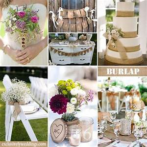 wedding decoration using burlap choice image wedding With burlap decorations for weddings