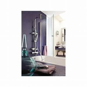 Colonne De Douche Carré : colonne bain douche thermostatique touareg valentin avec ~ Dailycaller-alerts.com Idées de Décoration