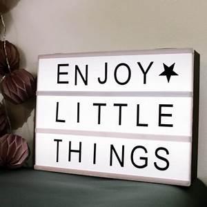Boite Lumineuse Message : light box boite lumineuse message canelle papillon ~ Teatrodelosmanantiales.com Idées de Décoration