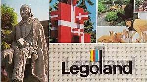 Legoland Billund Denmark 1987 Theme Park Map Monday Episode 18 Park Maps Across Time  U0026 The World