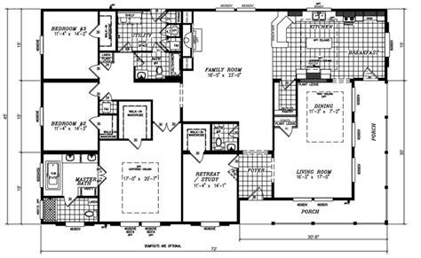 triple wide mobile home floor plans quadruple wide mobile home floor plans bedroom