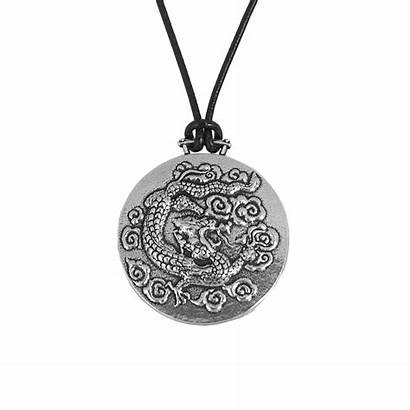 Dragon Necklace Sky Jewelry Britannia Metal Cord