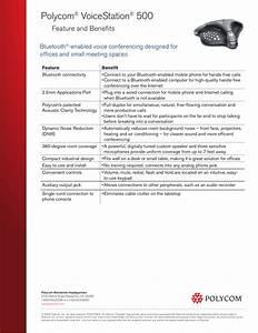 Polycom Voicestation 500 Manual